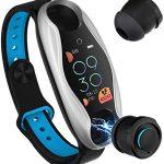 Smart Band with Bluetooth Earphones 6