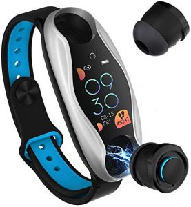 Smart Band with Bluetooth Earphones 8
