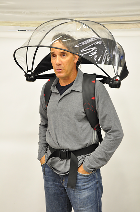 Attaching umbrella to a pack - Backpacking Light