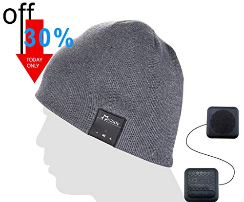 Bluetooth Music Beanie Cap - Dark Grey
