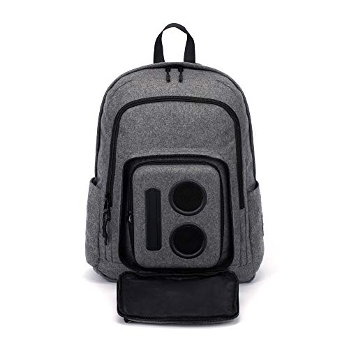Bluetooth Speaker Backpack (Gray, 2020 Edition)
