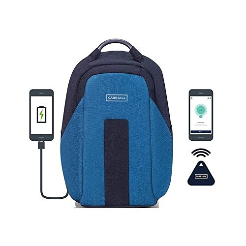 Carriall Vasco Blue Smart Laptop Backpack