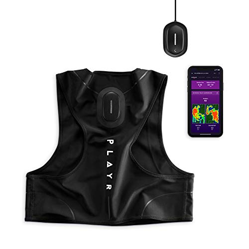 CATAPULT PLAYR Soccer GPS Tracker - GPS Vest and App to Track and Improve Your Game