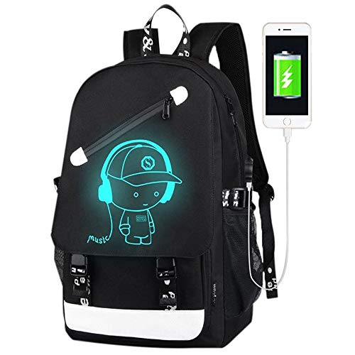 FLYMEI Anime Luminous Backpack
