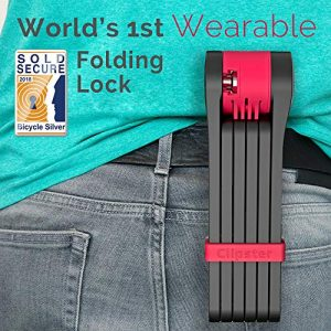 Foldylock Wearable Bike Lock 1