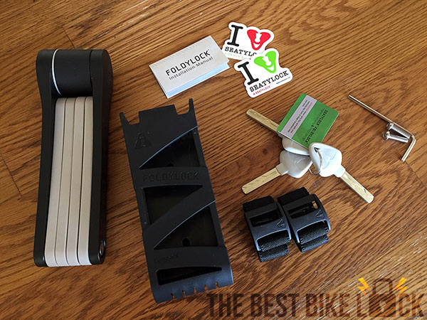 Foldylock Compact Review: The lightest folding lock! | The ...