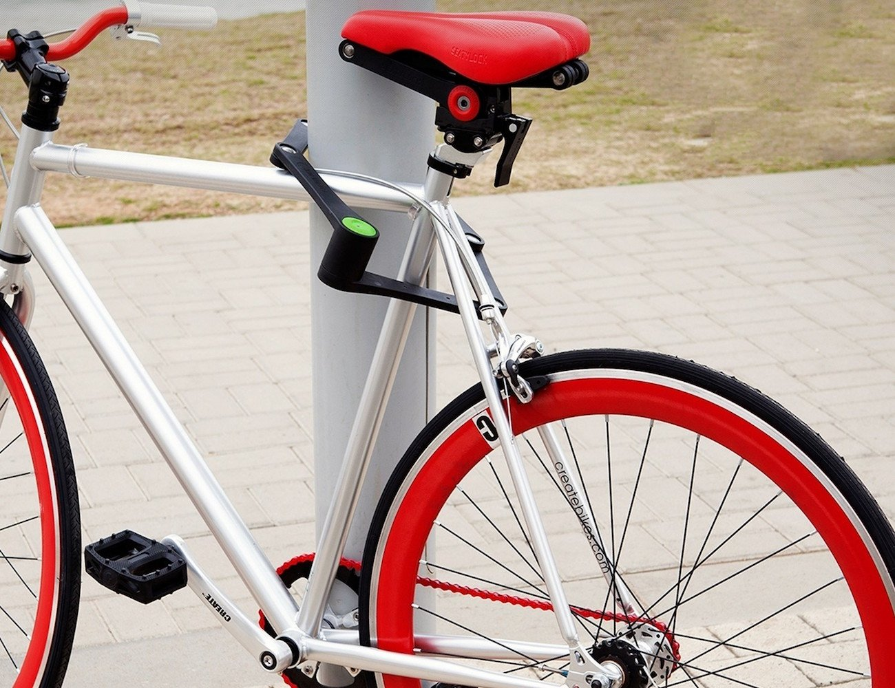 Foldylock – The Folding Bike Lock » Gadget Flow