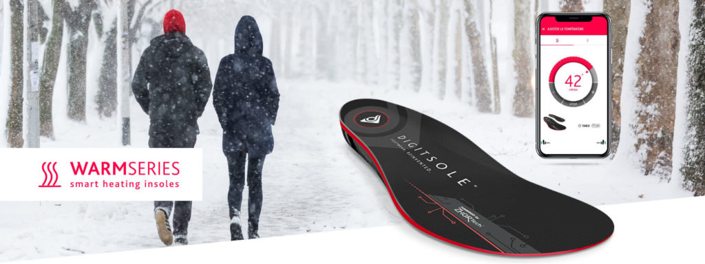 Digitsole Warm Series Heated Connected Insoles