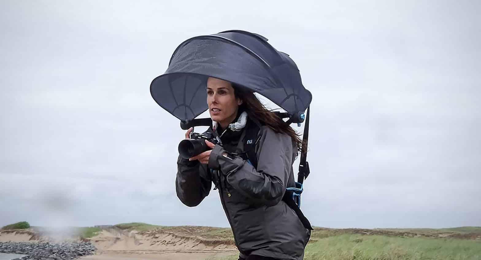 Nubrella Backpack Umbrella 4