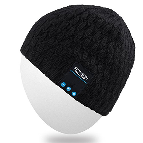 Rotibox Bluetooth Beanie Hat Wireless Headphone