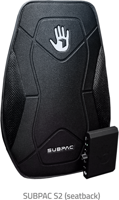 SUBPAC - The New Way to Experience Sound: Feel it.™