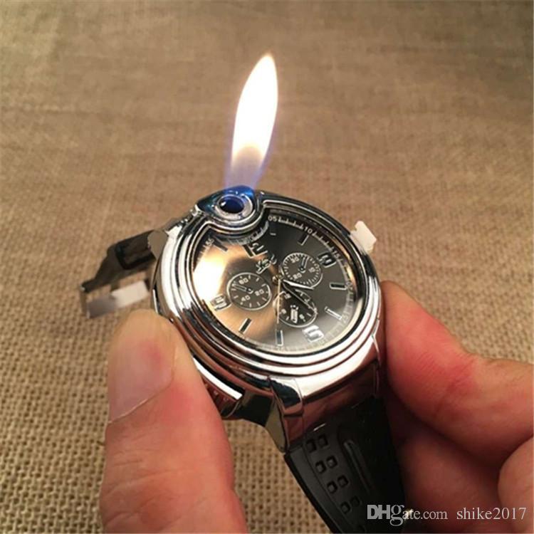 Refillable Lighter Watch