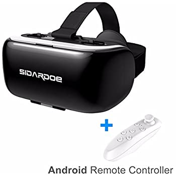 Amazon.com: 3D VR Headset, SIDARDOE 3D VR Glasses, Virtual ...