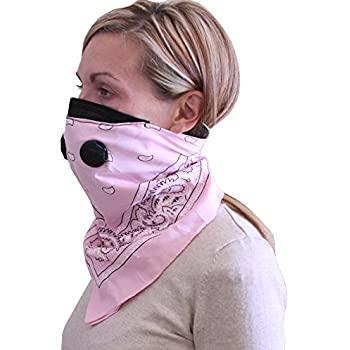 Amazon.com: ATV Tek Dust Mask Bandana (Pink, Universal/X ...