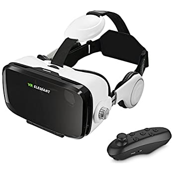 Amazon.com: ELEGIANT VR Headset, 3D VR Glasses, Virtual ...