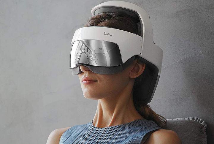 Breo iDream5 Head & Eye Massager with App Control