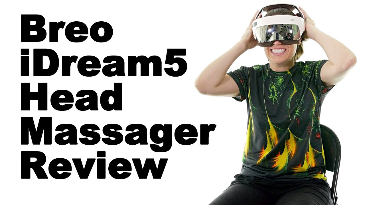 Breo iDream5 Head Massager Review - Ask Doctor Jo - YouTube