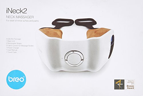 Breo Ineck2 Shiatsu Neck Massager with Removable Handles ...
