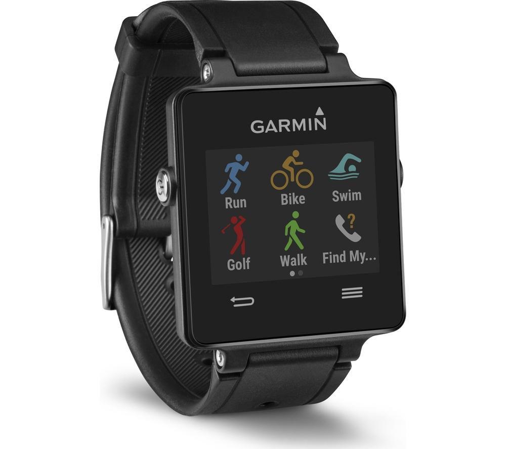 Buy GARMIN vivoactive GPS Smartwatch - Black   Free ...