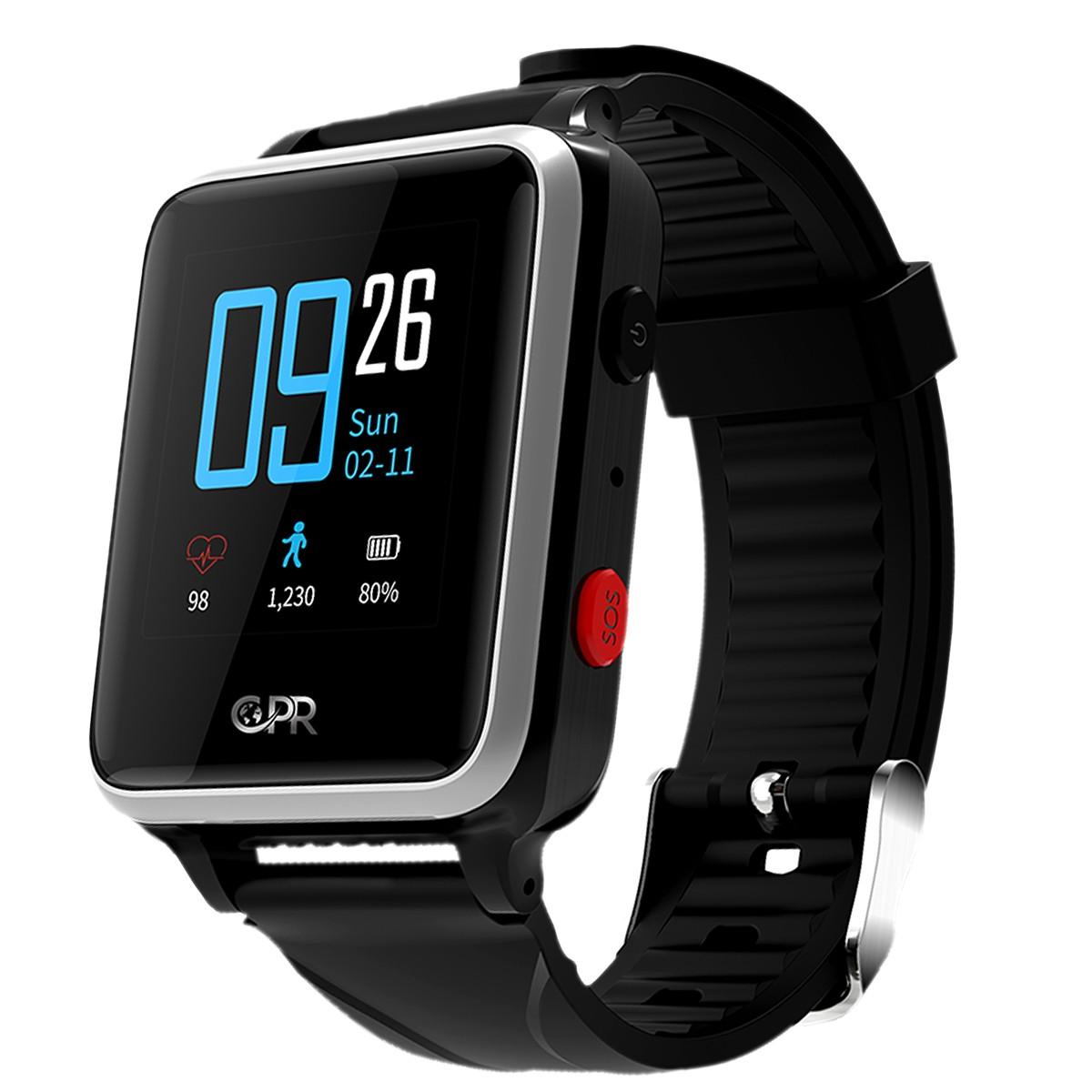 CPR Guardian II GPS Smart Watch for Adults | Robert Dyas