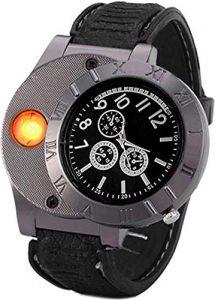 Cigarette Flameless Lighter Watch 3