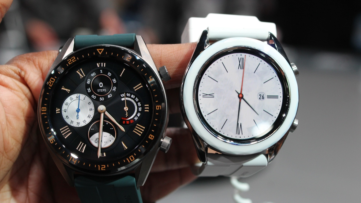 First look: Huawei Watch GT Active and Elegant Editions ...