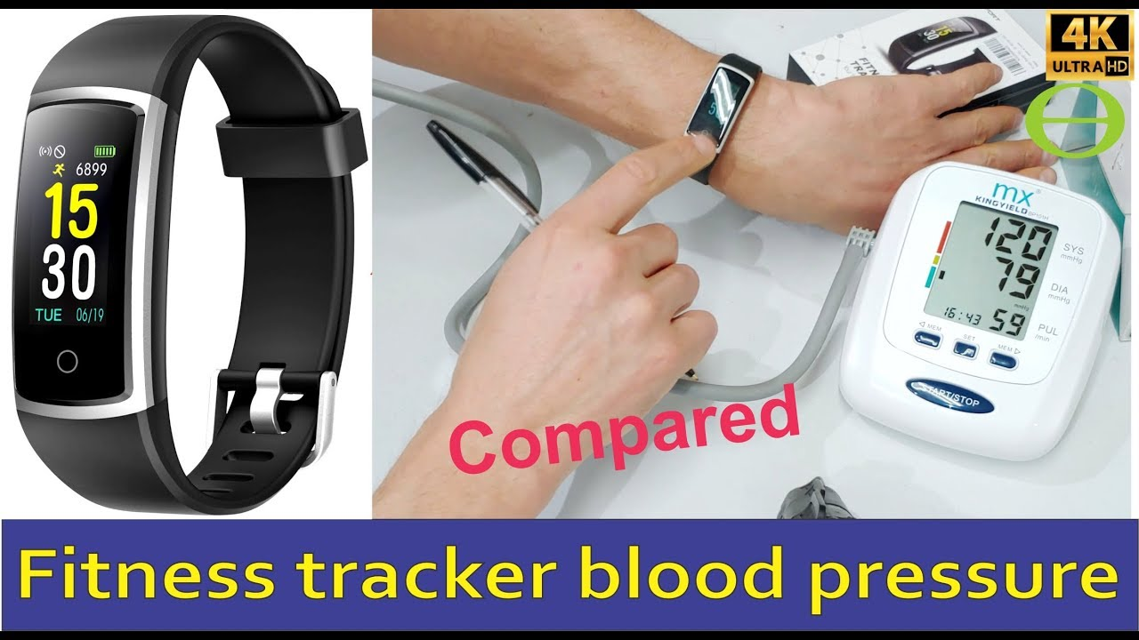 Fitfort (Amazon) fitness tracker blood pressure compared ...
