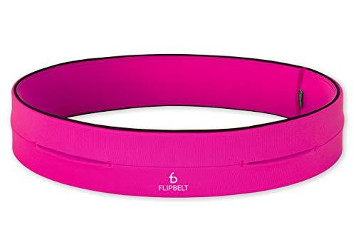 FlipBelt Level Terrain Waist Pouch, Hot Pink, Medium/29-32