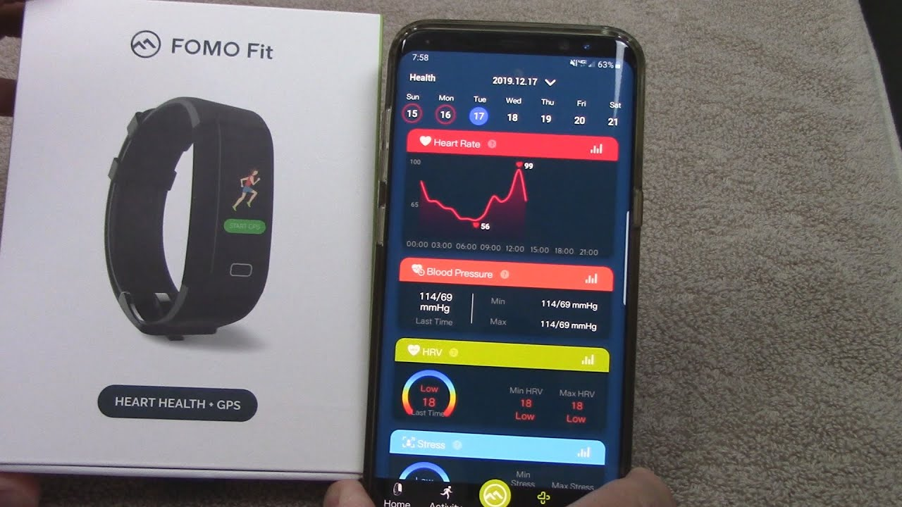 Fomo Fit fitness tracker review - YouTube