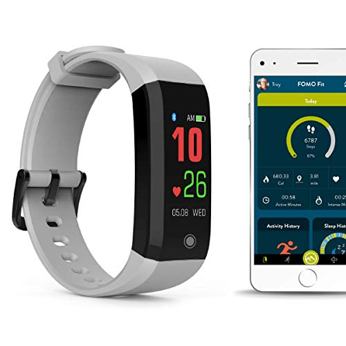FOMO Fit Sport Fitness Tracker - COOL WHITE