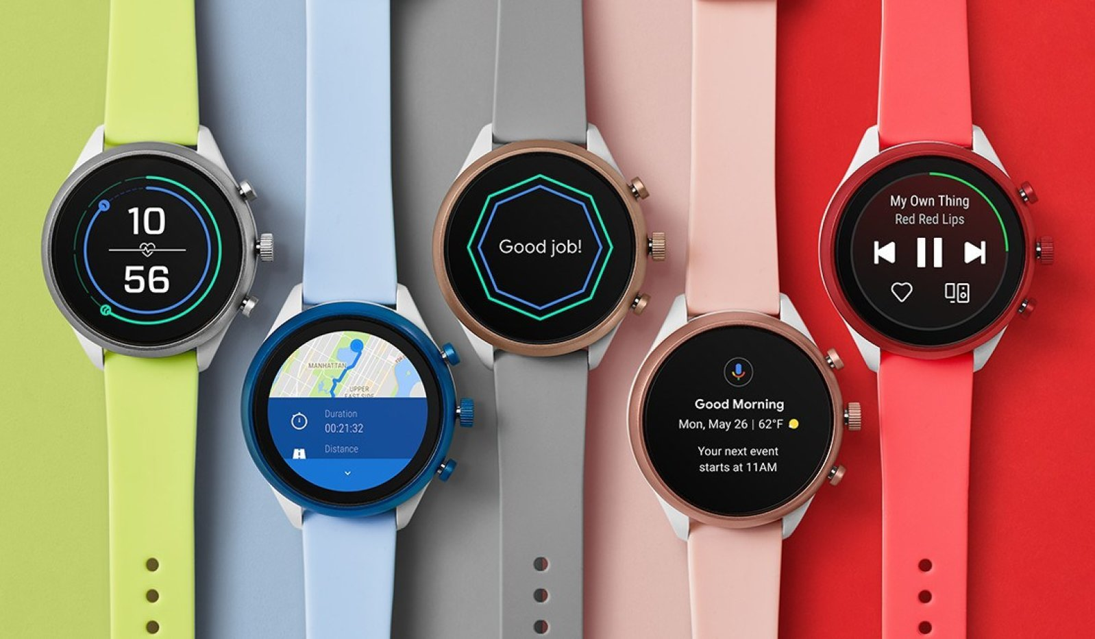 Fossil gets active with Sport smartwatch