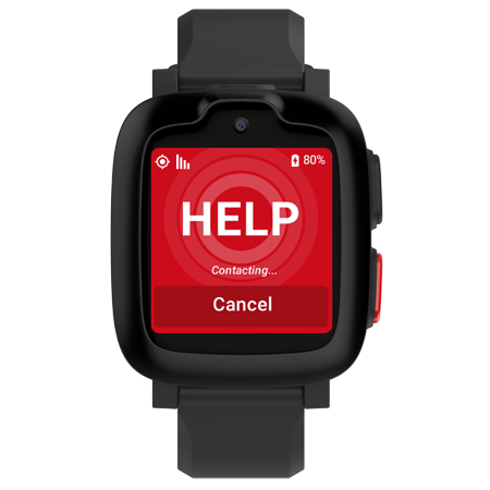 Freedom Guardian- Wearable Medical Alert System Smartwatch w/ Free Month of Service