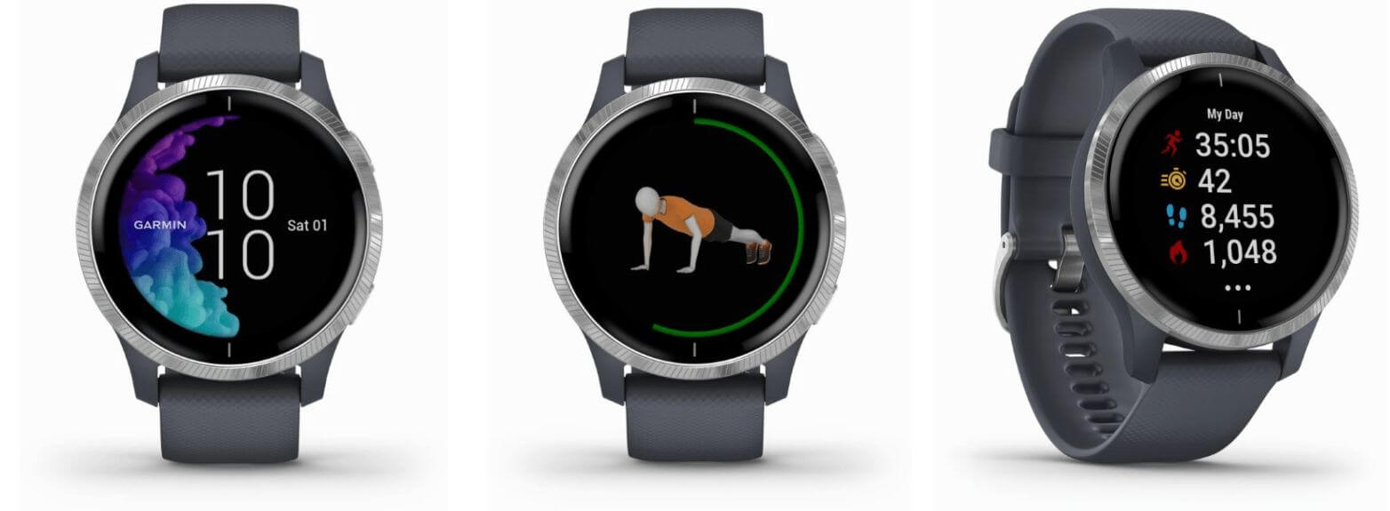 Garmin Venu - Stylish fitness watch to be launched at IFA?