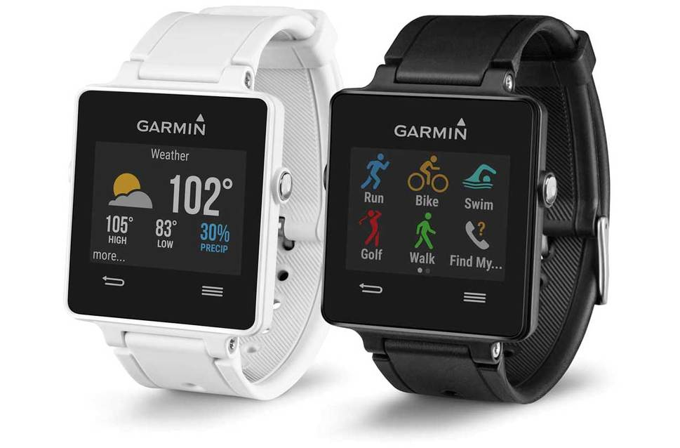 Garmin Vivoactive Smart Watch HRM Bundle   GPS & CYCLE ...