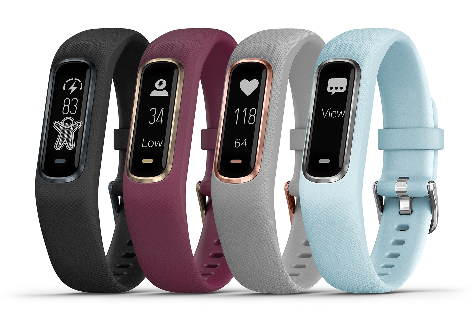 Garmin's Vivosmart 4 combines pulse-ox and a week of ...
