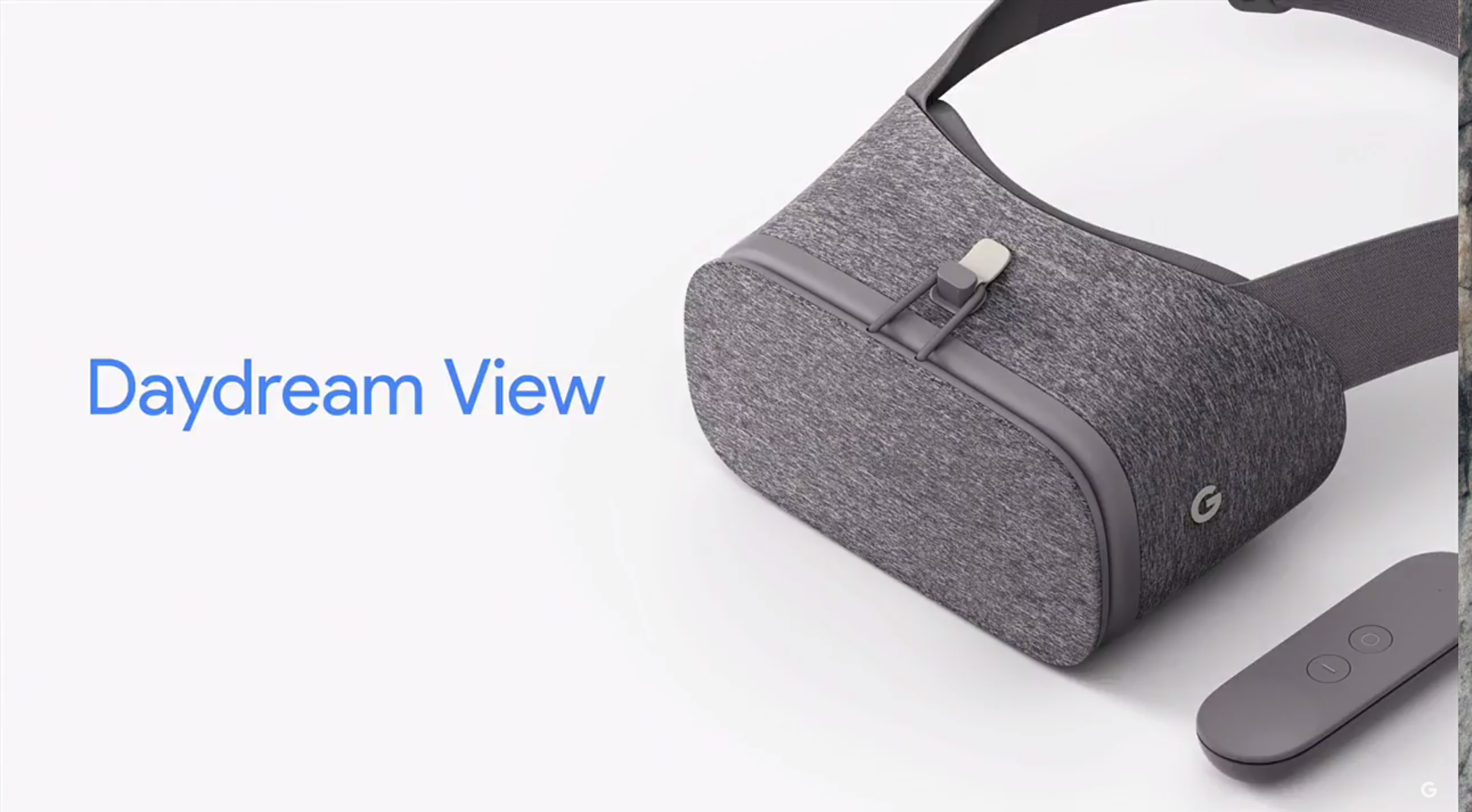"Google's ""Daydream View"" VR headset is smartphone-powered ..."