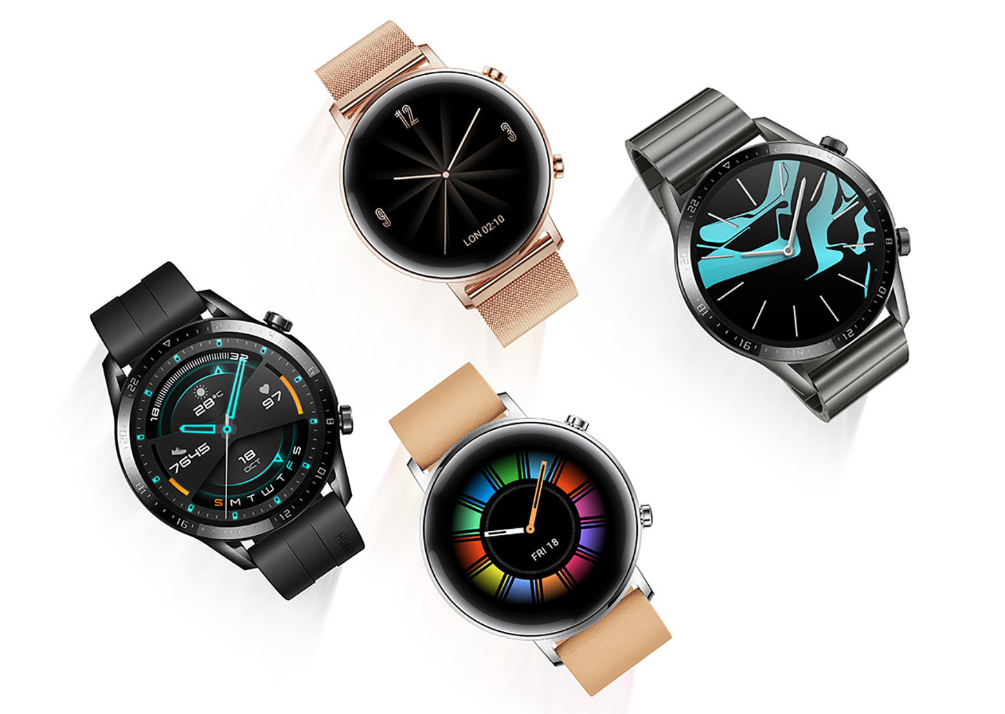 Huawei Watch GT 2 official, can get two weeks of battery ...