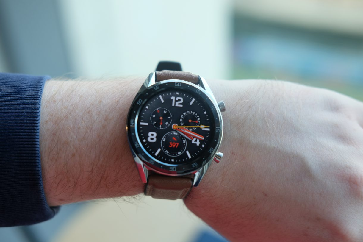 Huawei Watch GT launched with a 1.39-inch OLED screen and ...