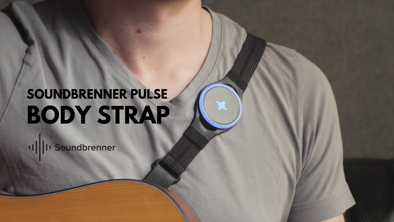 Introducing the Soundbrenner Pulse Body Strap - YouTube