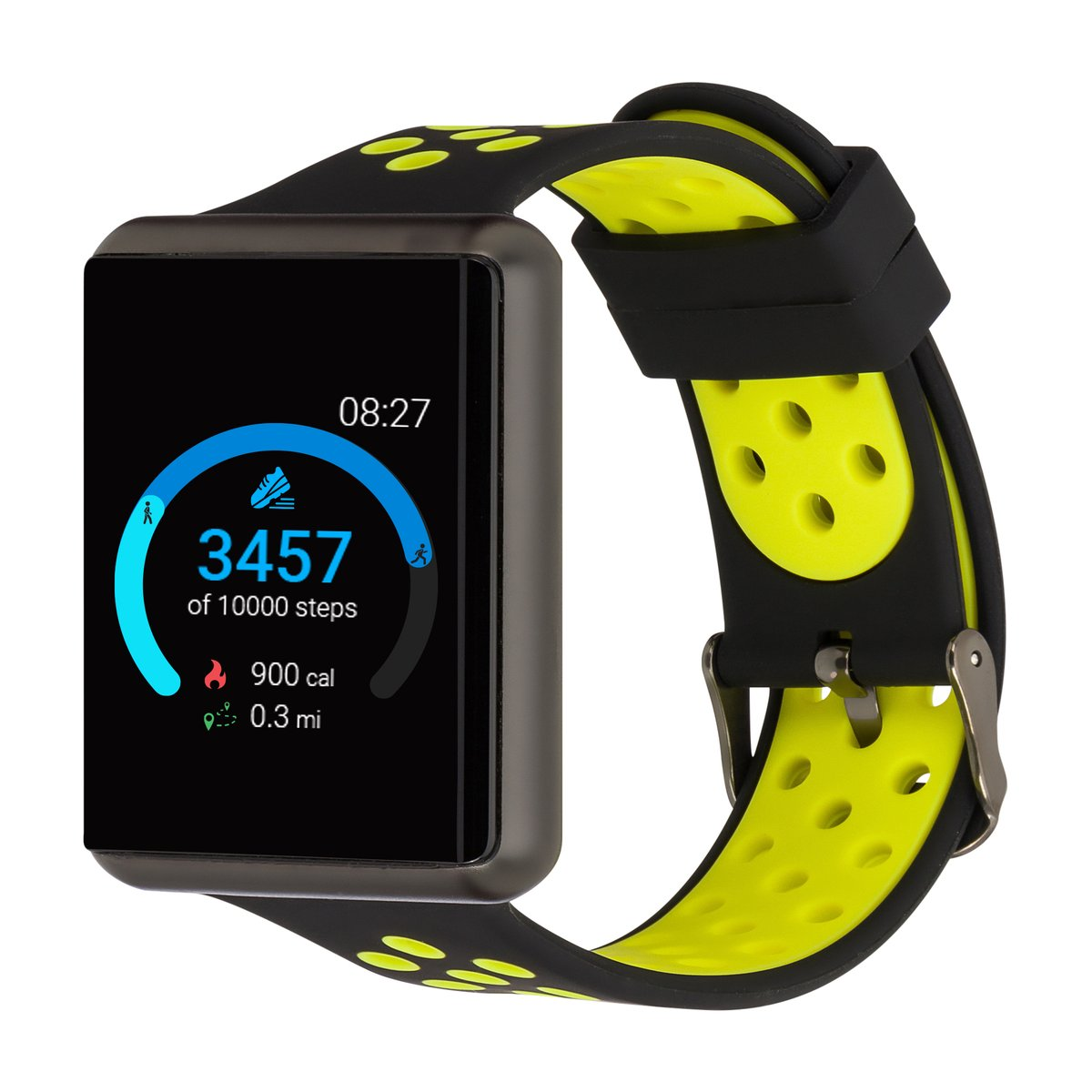 iTouch Air SE Smartwatch: Gun Case With Black/Lime ...