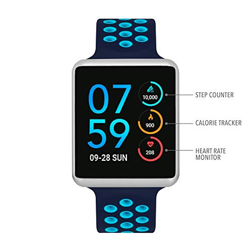iTouch Air Special Edition - Navy/Turquoise, 45mm (Medium/Large))