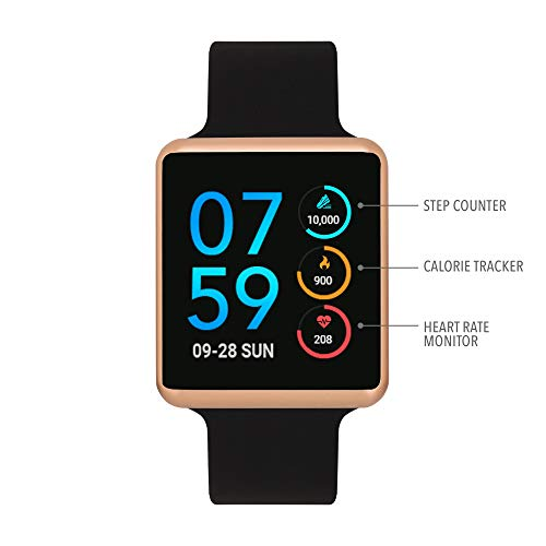 iTouch Air SE - Black/Rose Gold, 41mm (Small/Medium)