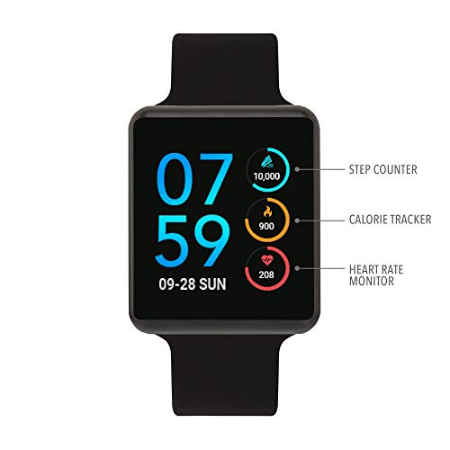 iTouch Air SE - Black/Black, 45mm (Medium/Large)