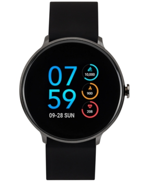 Itouch Sport Black Silicone Strap Touchscreen Smart Watch ...