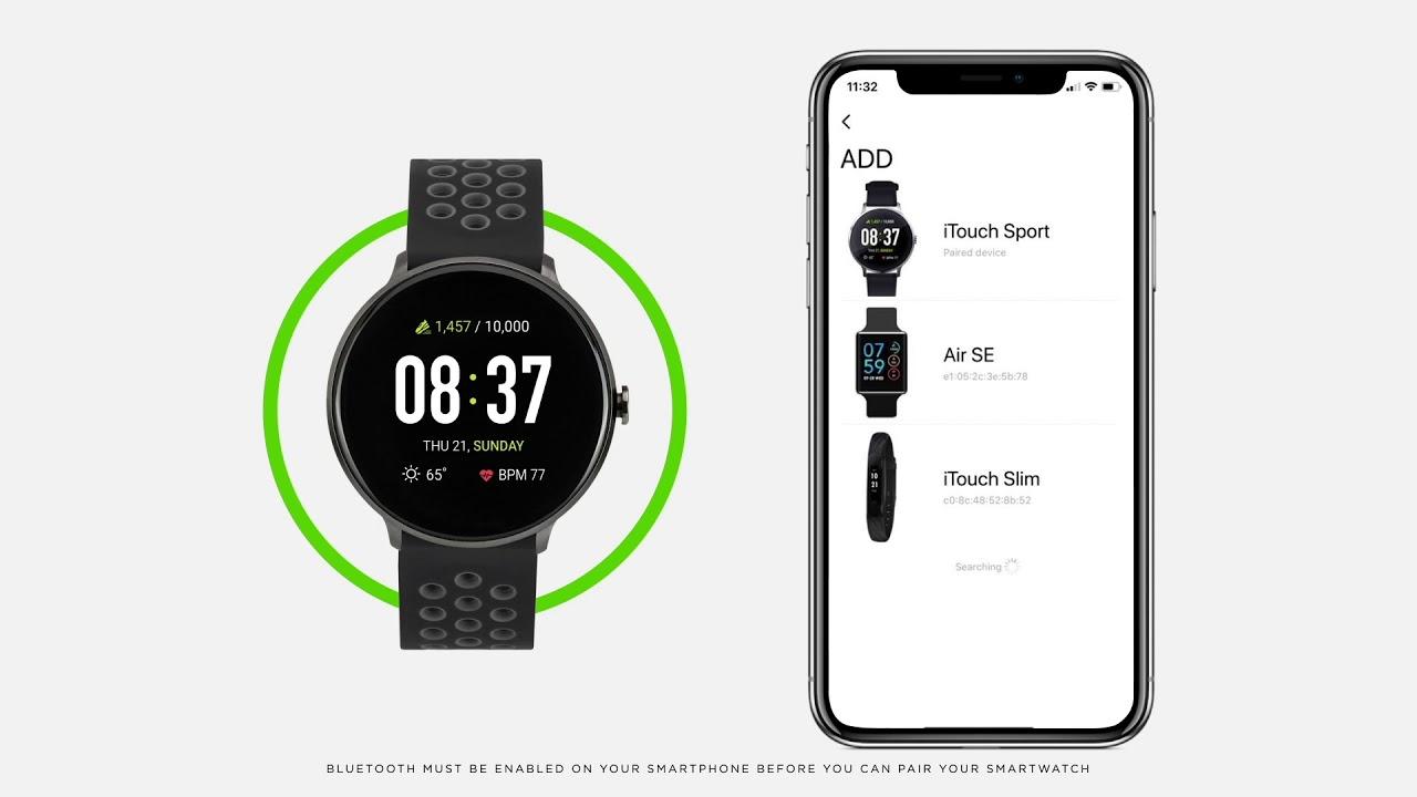 iTouch sport smart watch