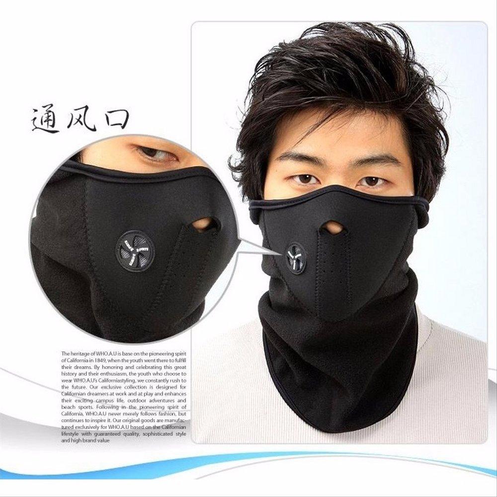 Jual Motorcycle Polar buff Ski Half Face Mask Masker Motor ...