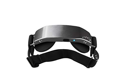 LIFTiD tDCS Device for Improving Focus, Attention, Memory, and Productivity Metallic Gray