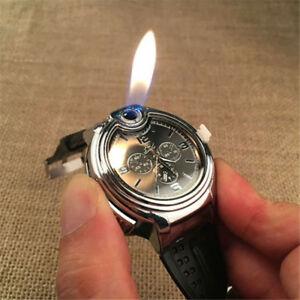 Military Cigarette Cigar Lighter Watch Men Quartz ...