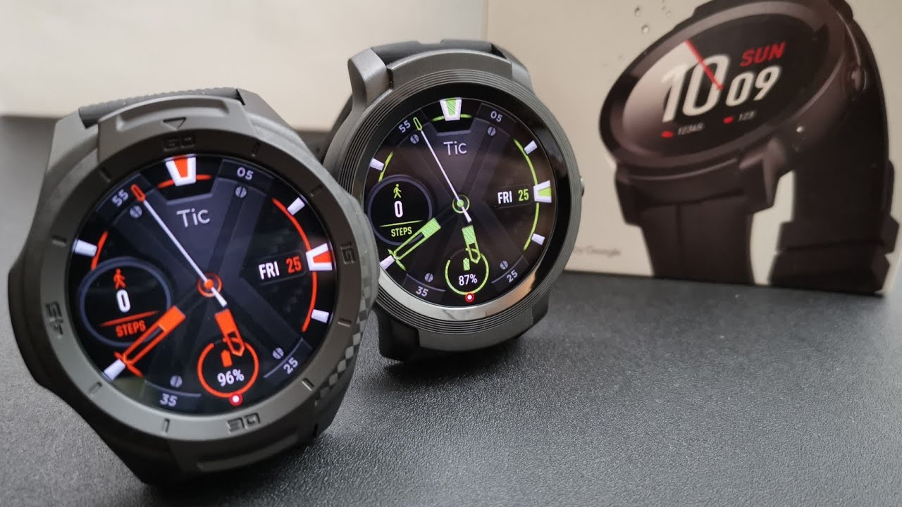 Mobvoi TicWatch S2 & E2 Review: Excellent Value ...