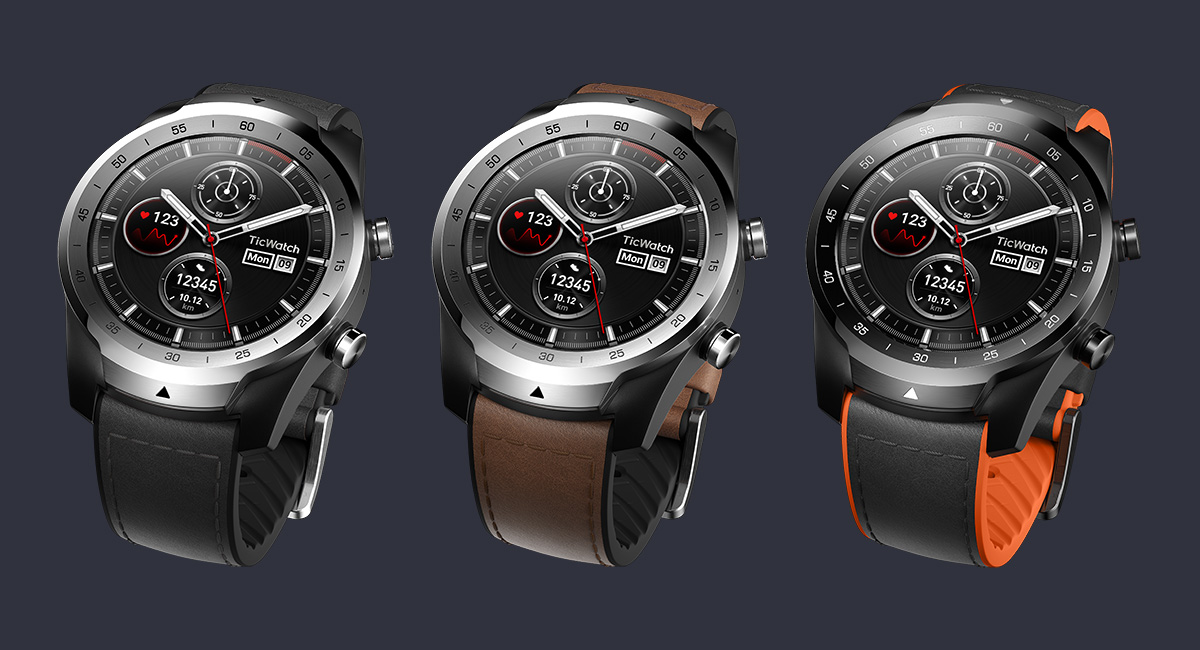 Mobvoi's TicWatch Pro Now Official With Layered Display ...